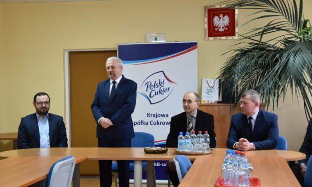 Krajowa Spółka Cukrowa inwestuje w byłej Cukrowni Łapy