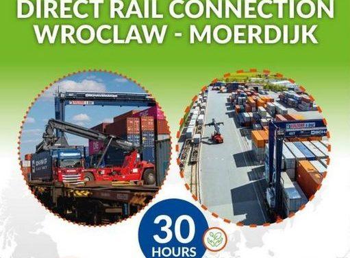 Schavemaker uruchamia bezpośrednie połączenie kolejowe Wrocław – Moerdijk