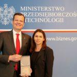 Ewald Raben z medalem za zasługi dla rozwoju polskiej gospodarki