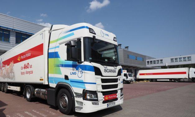 Poczta Polska testuje auta zasilane gazem LNG