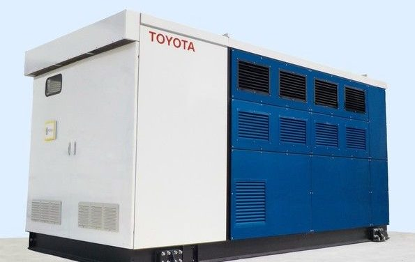 Toyota wprowadza generatory na ogniwa paliwowe do swoich fabryk
