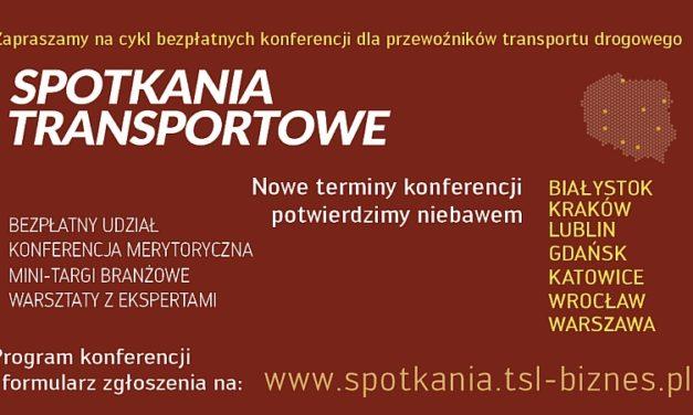 Spotkania Transportowe – nowe terminy już wkrótce