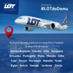 Trwa akcja #LOTDODOMU. Już ponad 32 tysiące osób wróciło do kraju.