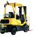 Nowe silniki LPG od Hyster dla wózków widłowych