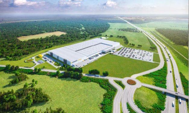 Nowe centrum logistyczne Zalando w Olsztynku