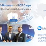 OEX E-Business podpisał umowę partnerską z LOT Cargo