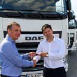 Wydanie ciągników siodłowych DAF XF 480 dla Grupy Globgranit