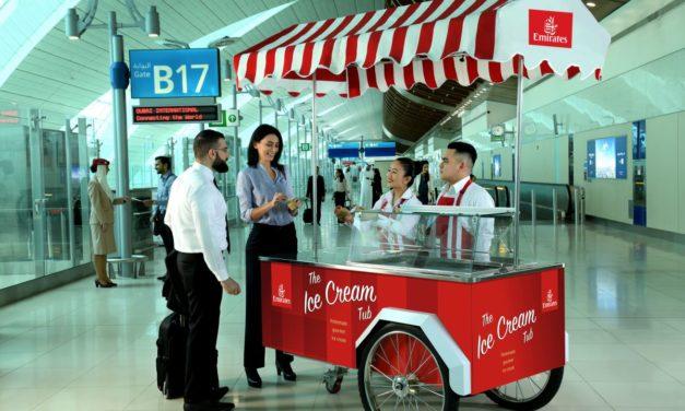 Linie Emirates serwują darmowe lody