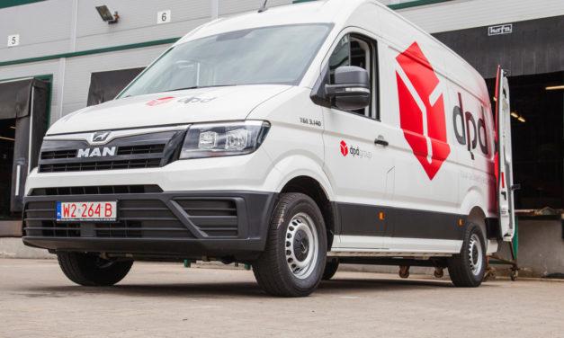 DPD Polska otrzyma pojazdy MAN TGE w wersji furgon