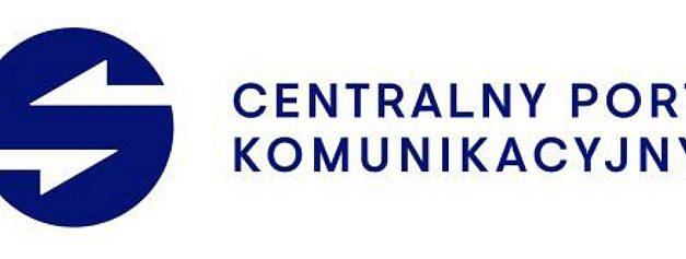 """Centralny Port Komunikacyjny – Port """"Solidarność"""" prezentuje swoje logo"""