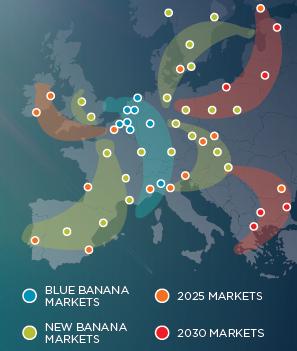 Osiem kluczowych korytarzy logistycznych powstających w Europie