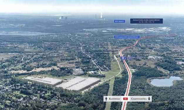 Panattoni ma już 500 tys. m kw. w Sosnowcu – nabywa grunt i dodaje nowe 80 tys. m kw.