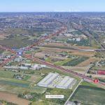 Warszawa z trzecim City Logistics Parks