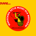 DHL wozi maski ochronne do szpitali