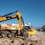 Raport z budowy na terminalu promowym w Świnoujściu