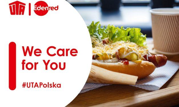 UTA Polska wspiera kierowców przekazując im ciepłe napoje i posiłki