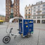 Szybka Paczka GLS – rowerem w Krakowie