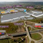 Nowe centrum logistyczne DL Invest Park Psary