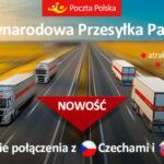 Międzynarodowa przesyłka paletowa Poczty Polskiej dotrze do Czech i na Słowację