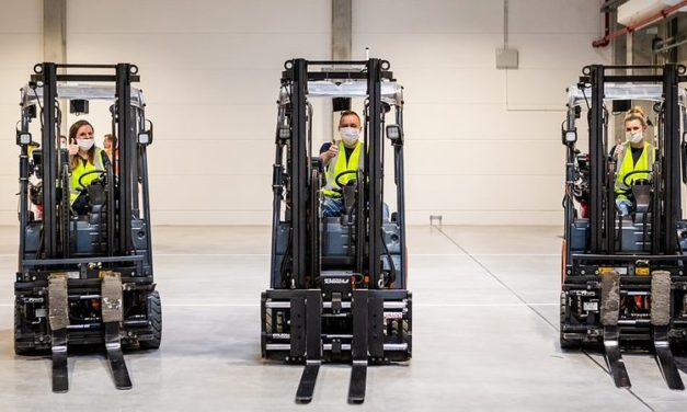 Nowy magazyn tranzytowy IKEA w Jarostach już otwarty