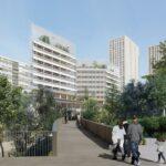 Podziemny hub w centrum Paryża