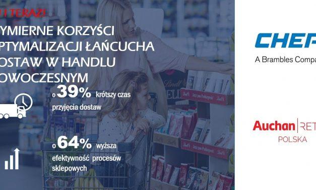 CHEP, a łańcuch dostaw Auchan